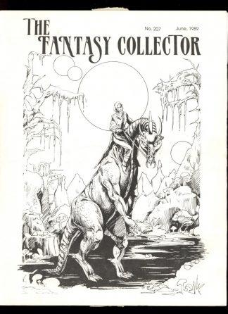 Fantasy Collector - #207 - 06/89 - VG-FN - Camille Cazedessus
