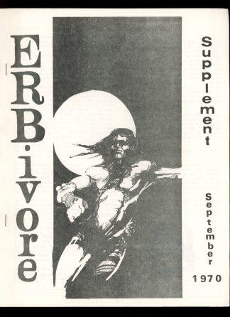Erbivore Supplement - #5 - 09/70 - FN - Philip J. Currie