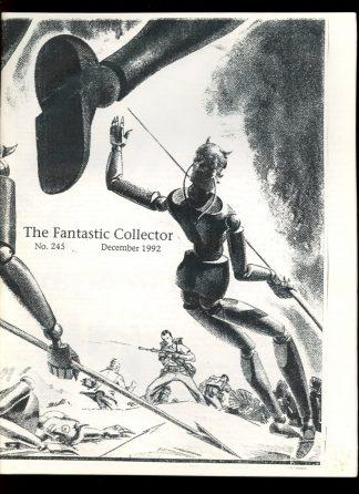 Fantastic Collector - #245 - 12/92 - VG - Camille Cazedessus