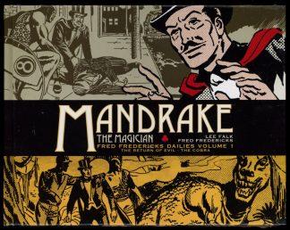 Mandrake The Magician Fred Fredericks Dailies - VOL. 1 - -/17 - FN/FN - Titan Comics