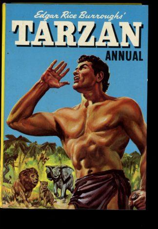 Edgar Rice Burroughs' Tarzan Annual [BRITISH] - 1961 - -/61 - VG-FN - World Distributors