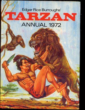 Edgar Rice Burroughs' Tarzan Annual [BRITISH] - 1972 - -/72 - VG - World Distributors