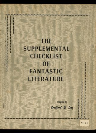 Supplemental Checklist Of Fantastic Literature - 1963 - -/63 - VG - Science Fiction & Fantasy Publications