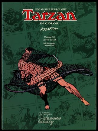 Tarzan In Color Vol. 10 1940-1941 - 1st Print - -/94 - FN/FN - Flying Buttress