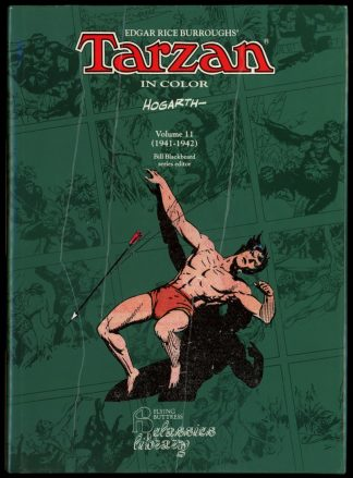 Tarzan In Color Vol. 11 1941-1942 - 1st Print - -/95 - NF/FN - Flying Buttress