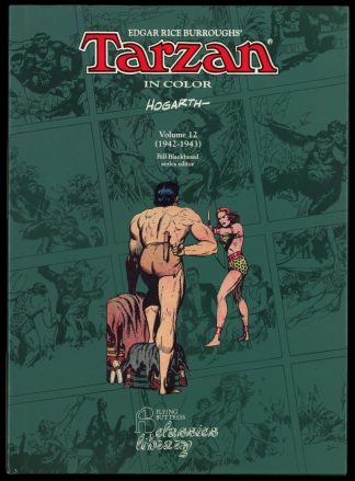 Tarzan In Color Vol. 12 1942-1943 - 1st Print - -/95 - FN/FN - Flying Buttress