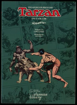 Tarzan In Color Vol. 13 1943-1944 - 1st Print - -/95 - FN/FN - Flying Buttress