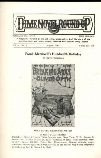 Dime Novel Roundup - #556 - 08/82 - FN - Edward T. LeBlanc