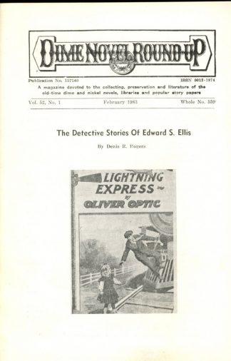 Dime Novel Roundup - #559 - 02/83 - FN - Edward T. LeBlanc