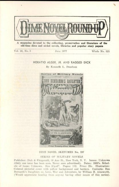 Dime Novel Roundup - #525 - 06/77 - FN - Edward T. LeBlanc