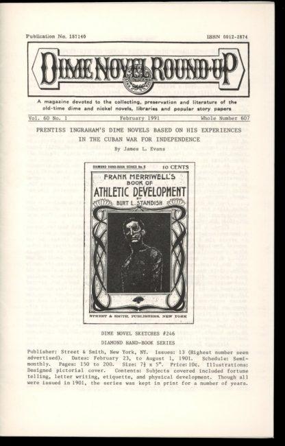 Dime Novel Roundup - #607 - 02/91 - FN - Edward T. LeBlanc