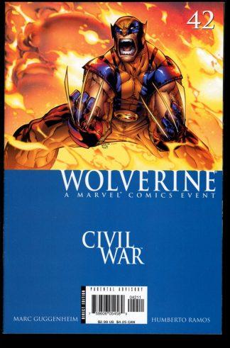 Wolverine - #42 - 07/06 - 9.0 - Marvel