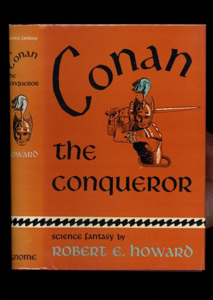 Conan The Conqueror - 1st Print - -/50 - NF/NF - Gnome Press