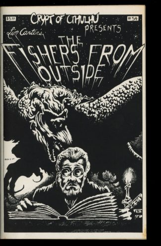 Crypt Of Cthulhu - #54 - 04/88 - VG-FN - Robert Price