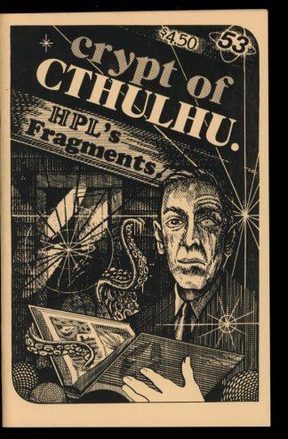 Crypt Of Cthulhu - #53 - 02/88 - VG-FN - Robert Price