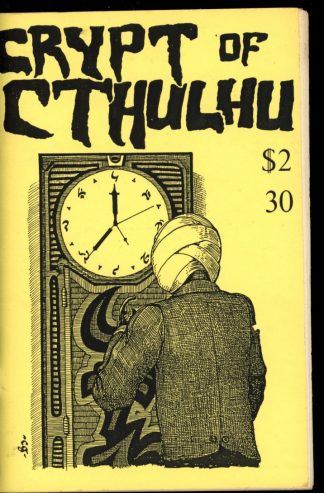 Crypt Of Cthulhu - #30 - 04/85 - VG-FN - Robert Price