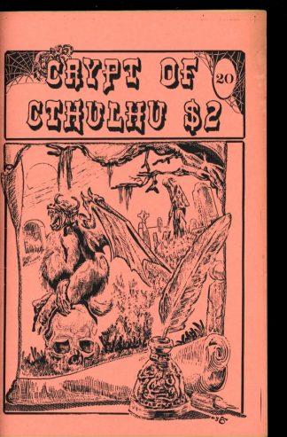 Crypt Of Cthulhu - #20 - 04/84 - VG-FN - Robert Price