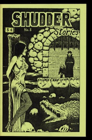 Shudder Stories - #3 - 04/85 - VG-FN - Cryptic Publications