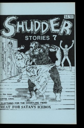 Shudder Stories - #7 - 10/87 - VG-FN - Cryptic Publications