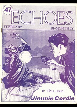 Echoes - #47 - 02/90 - VG-FN - Fading Shadows