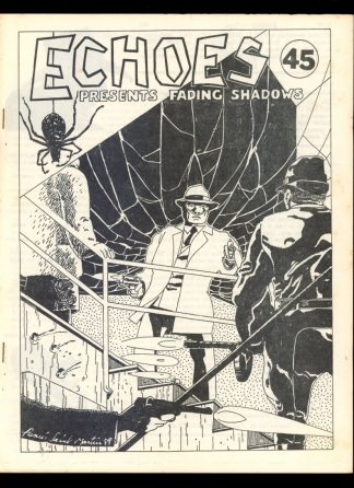 Echoes - #45 - 10/89 - VG-FN - Fading Shadows