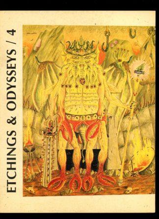 Etchings & Odysseys - #4 - #387 of 500 - -/84 - VG - Strange Company