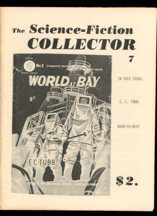 Science-Fiction Collector - #7 - 07/79 - VG - J. Grant Thiessen