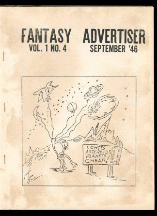 Fantasy Advertiser - #4 - 09/46 - G-VG - Gus Willmorth