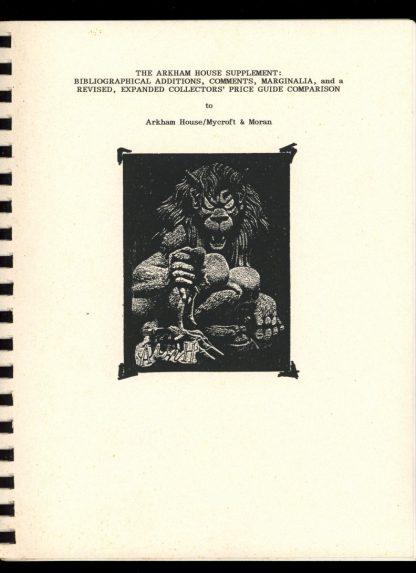 Arkham House Supplement - #41 OF 45 COPIES - -/97 - FN - John Haefele