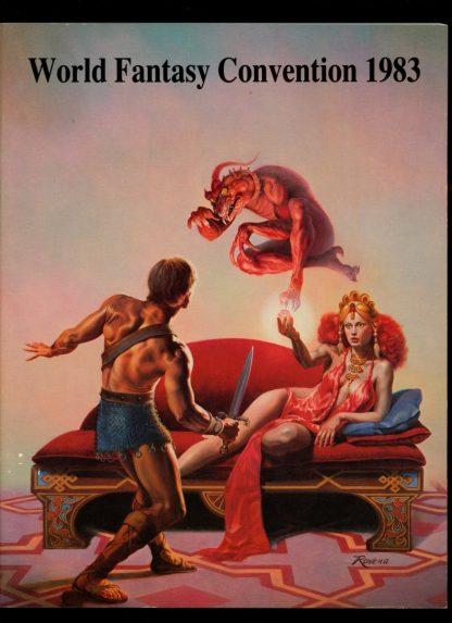 World Fantasy Convention - 1983 - 10/83 - VG-FN - Weird Tales LTD