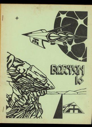 Baryon - VOL.4 NO.3 - 07/79 - VG - Hunters Den Publications