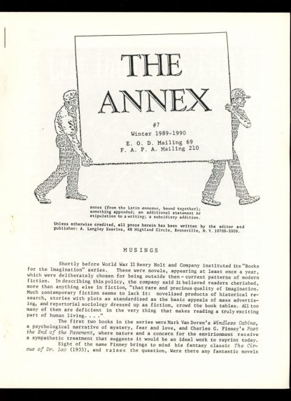 Annex - #7 - WINTER/89-90 - FN - A. Langley Searles