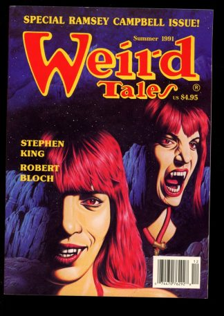 Weird Tales - SUMMER/91 - SUMMER/91 - FN - Terminus Publishing