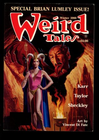 Weird Tales - WINTER/89 - WINTER/89 - FN - Terminus Publishing