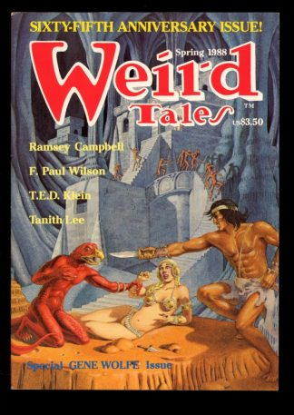 Weird Tales - SPRING/88 - SPRING/88 - FN - Terminus Publishing