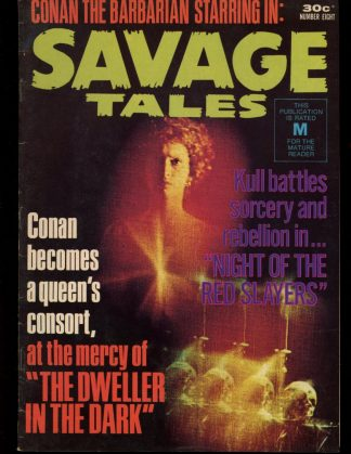 Savage Tales [AUSTRALIAN] - #8 - 08/75 - 6.0 - K.G. Murray Publishing
