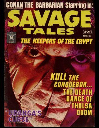 Savage Tales [AUSTRALIAN] - #6 - 03/75 - 6.0 - K.G. Murray Publishing