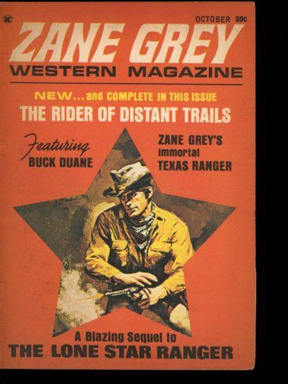 Zane Grey Western Magazine - 10/69 - 10/69 - VG - Zane Grey Western Magazine