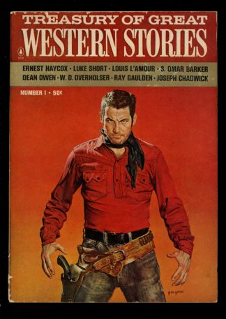 Treasury Of Great Western Stories - -/65 - -/65 - G-VG - Popular Library