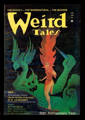 Weird Tales - FALL/73 - FALL/73 - VG-FN - Weird Tales