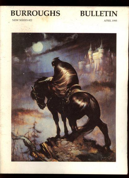 Burroughs Bulletin [NEW Series] - #22 - 04/95 - G-VG - Burroughs Bibliophiles
