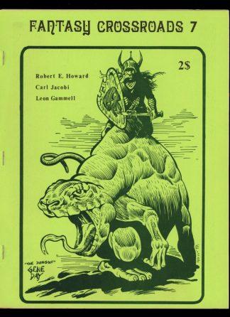 Fantasy Crossroads - #7 - 02/76 - VG-FN - Jonathan Bacon