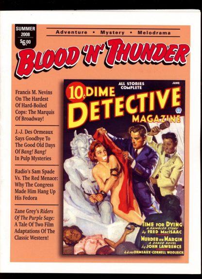 Blood 'N' Thunder - #21 - SUMMER/08 - FN - Ed Hulse