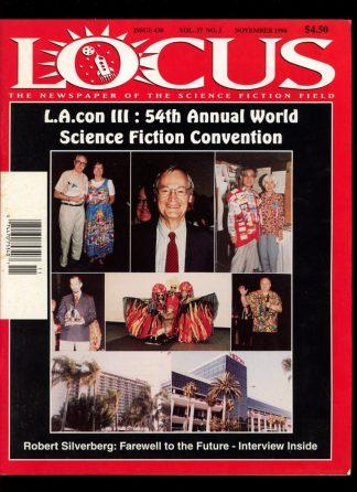 Locus - #430 - 11/96 - VG-FN - Locus Publications