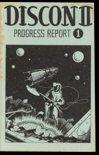 Discon Ii – Progress Report - #1 - -/74 - G-VG - Discon
