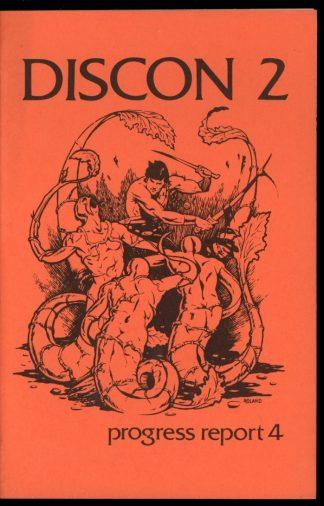 Discon Ii – Progress Report - #4 - -/74 - VG-FN - Discon