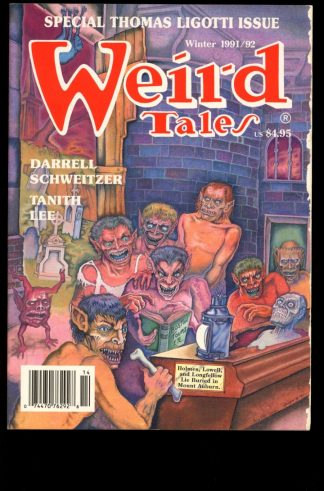 Weird Tales - WINTER/91-92 - WINTER/91-92 - G - Terminus Publishing