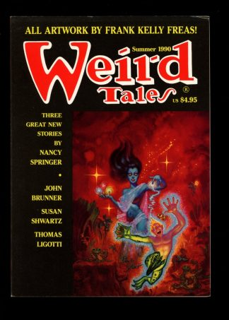 Weird Tales - SUMMER/90 - SUMMER/90 - FN - Terminus Publishing