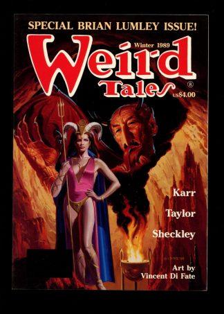 Weird Tales - WINTER/89 - WINTER/89 - FN - Terminus Publishing
