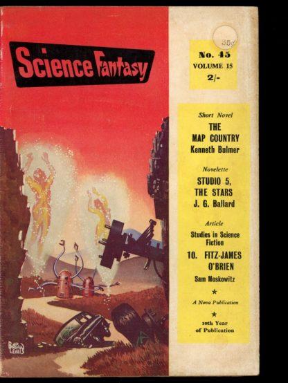 Science Fantasy [BRITISH] - #45 - 02/61 - G-VG - Nova Publications